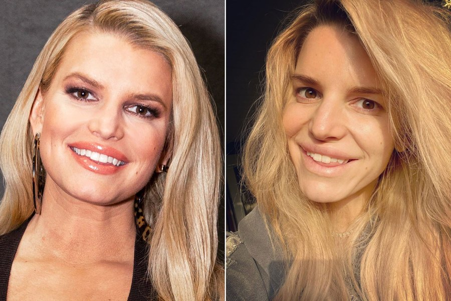 Jessica Simpson Is Literally Glowing in Unedited, Makeup-Free Selfie