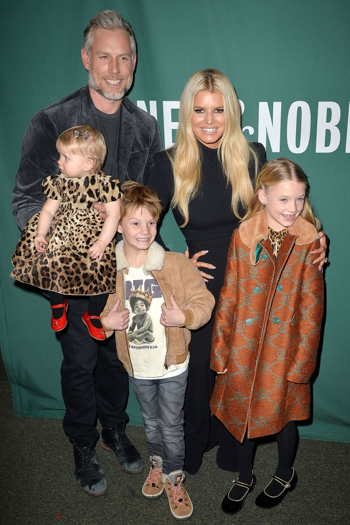 Jessica Simpson Wants to Be a Role Model for Daughters About Body Image