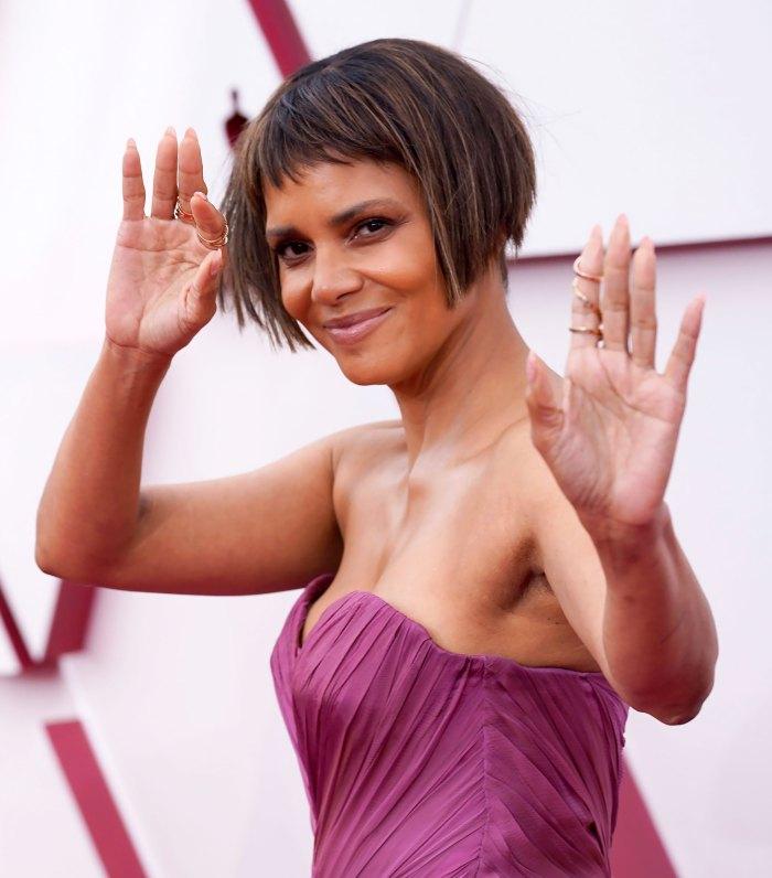 Just Kidding! Halle Berry's Uber-Short Oscars Bob Was Fake