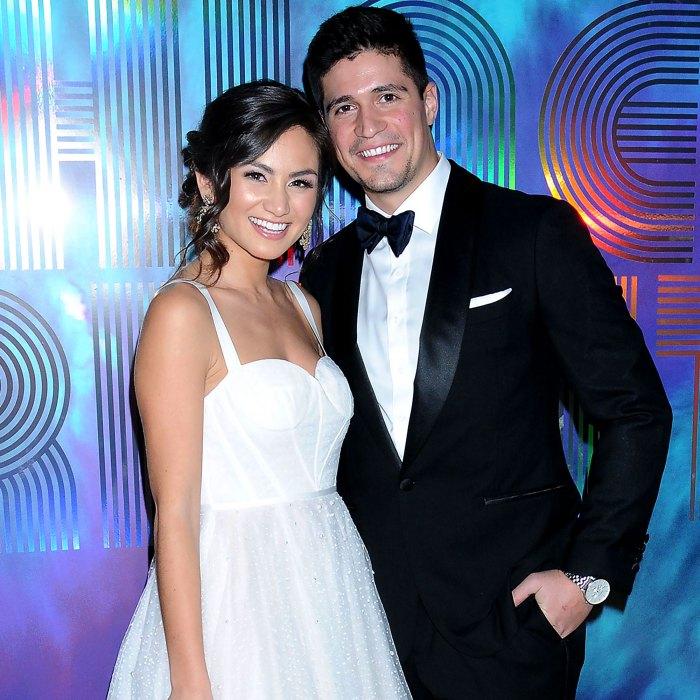 Just Married Bachelors Caila Quinn Weds Nick Burrello Photos