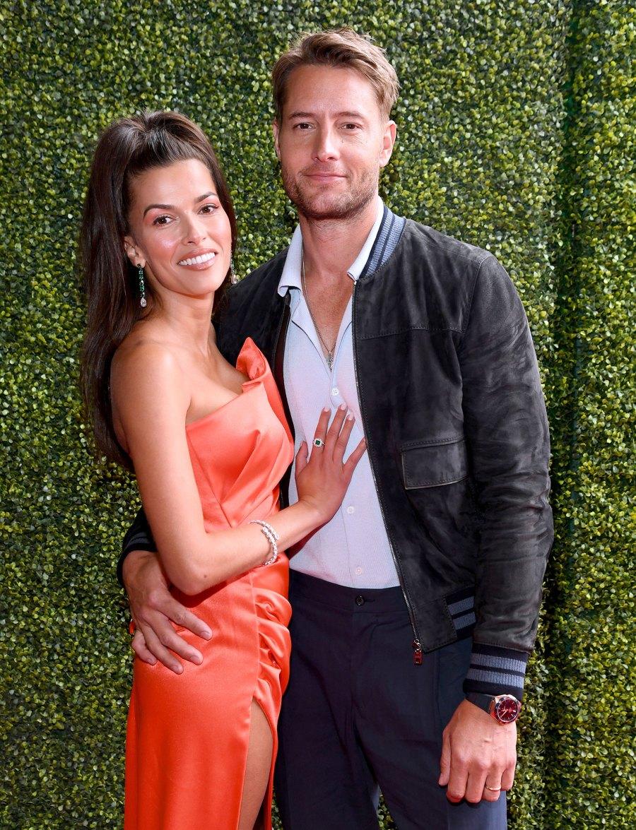 Justin Hartley and Sofia Pernas Red Carpet Debut MTV Movie TV Awards 2021 3