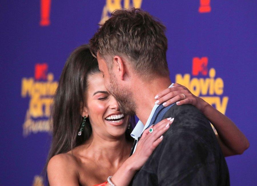 Justin Hartley and Sofia Pernas Red Carpet Debut MTV Movie TV Awards 2021