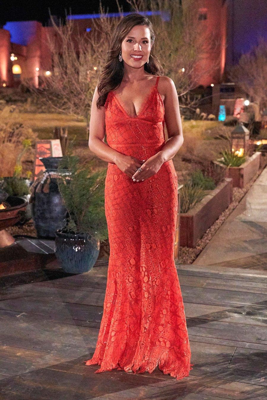 Katie Thurston Bachelorette Orange Gown 2