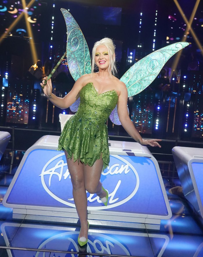 Katy Perry Bleaches Her Eyebrows to Complete Tinker Bell Transformation