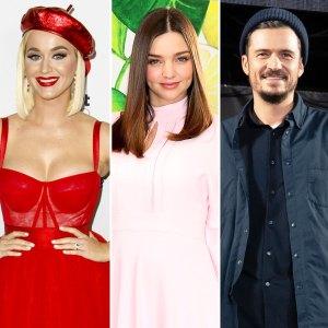 Katy Perry Miranda Kerr Troll Orlando Bloom Poncho Pic