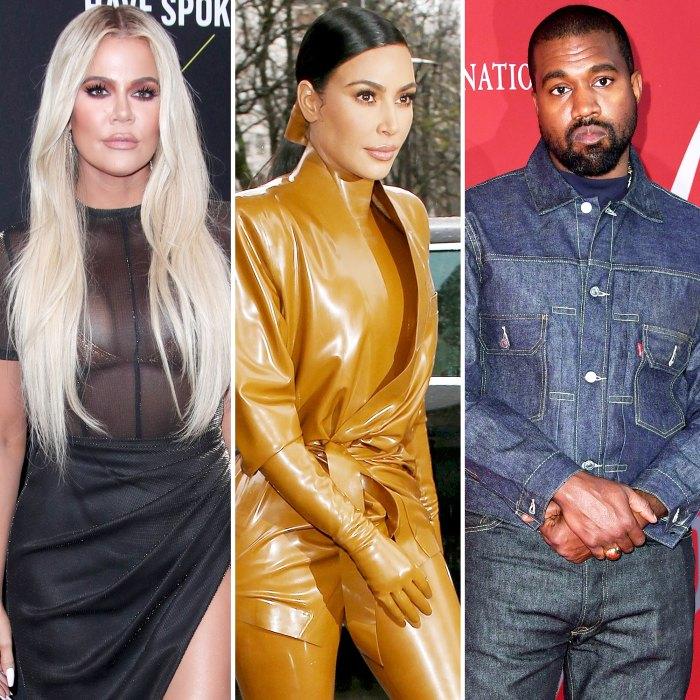 Khloe Kardashian Kim Kardashian está luchando con su relación con Kanye West