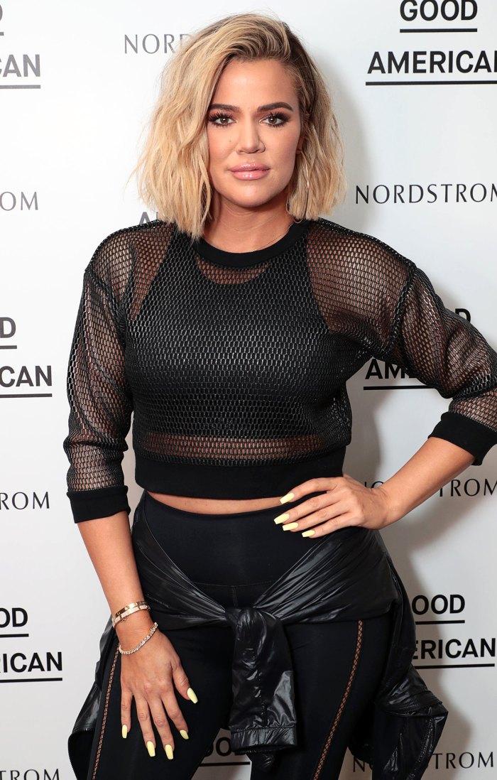 Khloe Kardashian muestra su estómago tonificado en equipo de entrenamiento después de la controversia de Photoshop