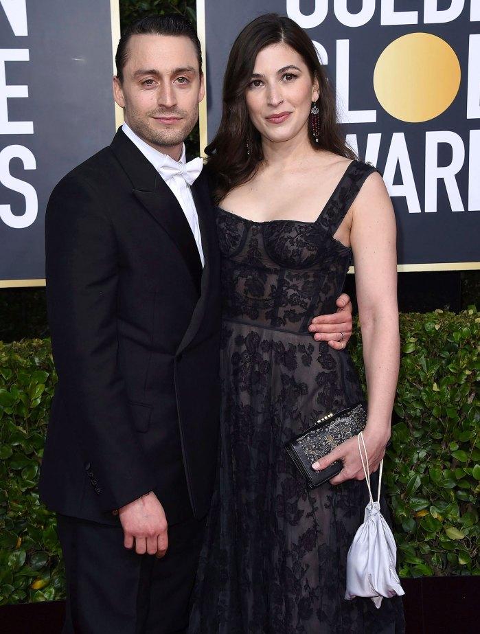 La esposa de Kieran Culkin, Jazz Charton, está embarazada de su segundo hijo