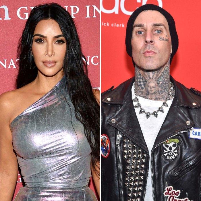 Kim Kardashian niega haber tenido relaciones con Travis Barker falsa narrativa