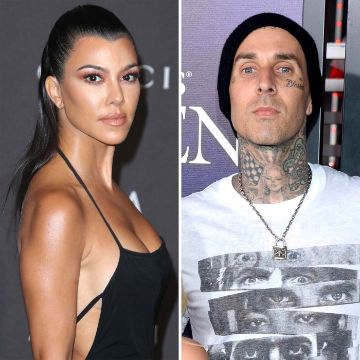 Kourtney Kardashian niega que el romance de Travis Barker esté cambiando su estilo