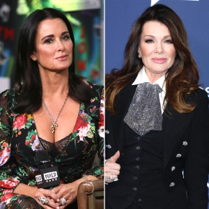 Kyle Richards Reacts After Lisa Vanderpump Sends Her the Check During Restaurant Run-In