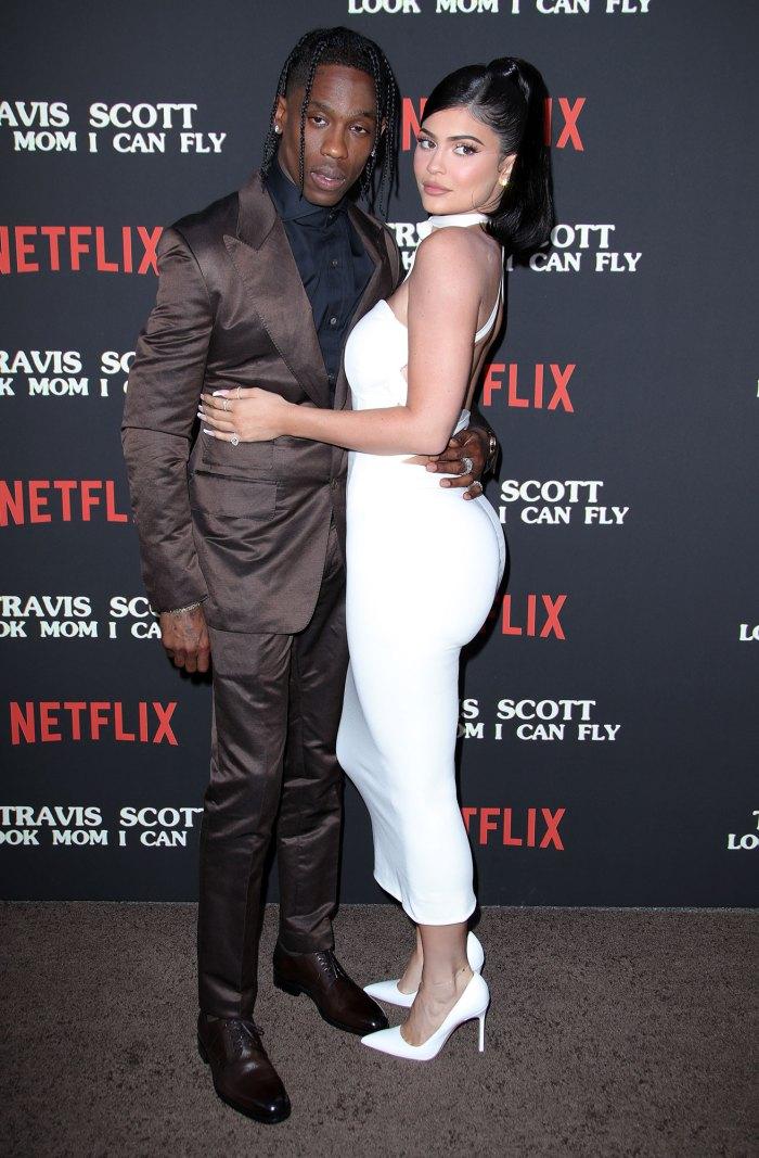 Kylie Jenner apoya al ex Travis Scott en su concierto en Miami Beach