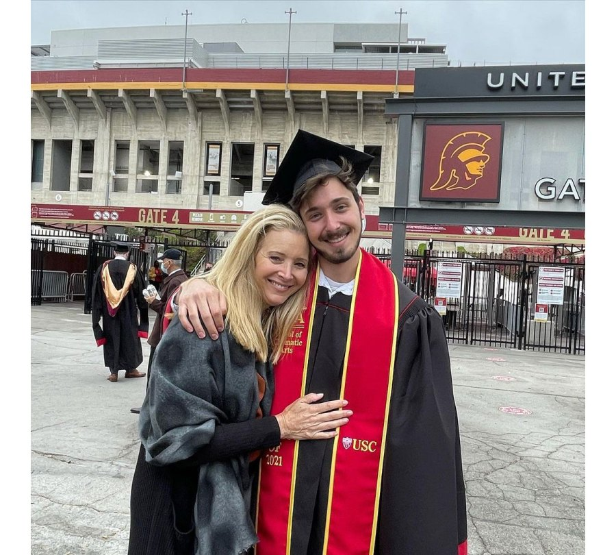 Lisa Kudrow Instagram Julian Murray Stern Celebrities Whose Kids Graduated School in 2021