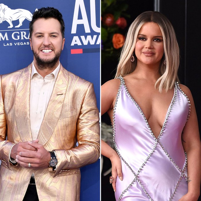 Luke Bryan Jokes the Father of Maren Morris Son