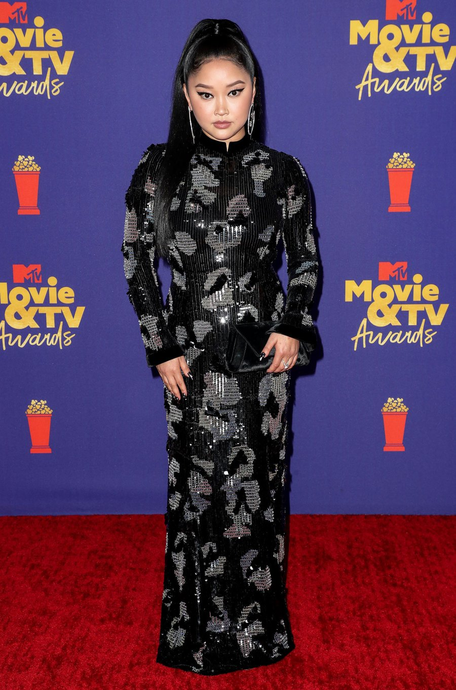 MTV Movie & TV Awards Red Carpet Arrivals - Lana Condor