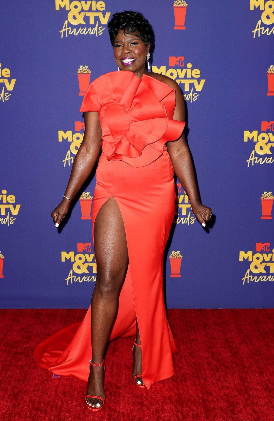 MTV Movie & TV Awards Red Carpet Arrivals - Leslie Jones