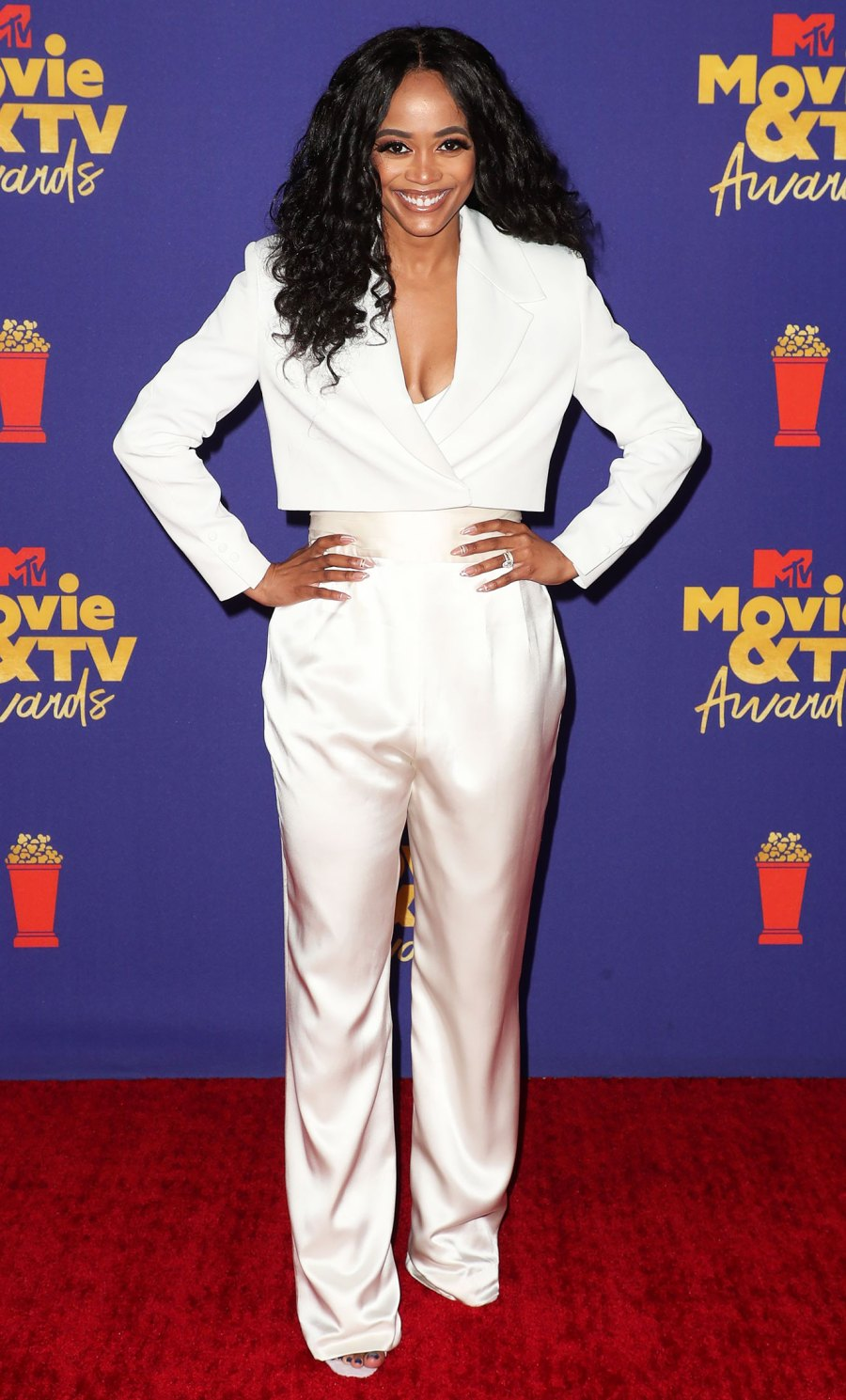 MTV Movie & TV Awards Red Carpet Arrivals - Rachel Lindsay