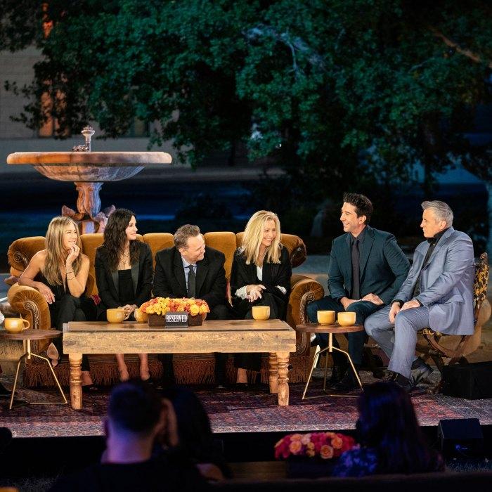 Principal Jennifer Aniston Courteney Cox Matthew Perry Lisa Kudrow David Schwimmer Matt Leblanc Friends Reunion Mejores momentos