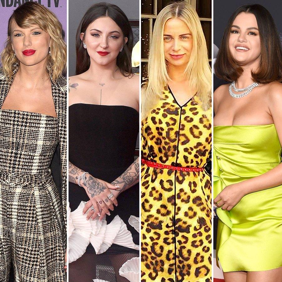 Taylor Swift Julia Michaels Raquelle Stevens Selena Gomez Inner Circle: Meet Pop Stars Hairstylists Musicians Closest Singer
