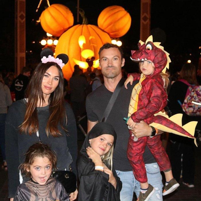 Megan Fox dice que ella y Brian Austin Green's 3 Sons Fight 'Nonstop'