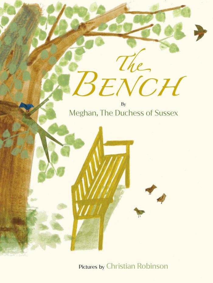 El tema del libro infantil de Meghan Markle es profundamente personal The Bench