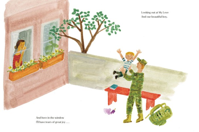 Meghan Markle Publishing Children Book The Bench Inspired by Prince Harry and Son Archie 11