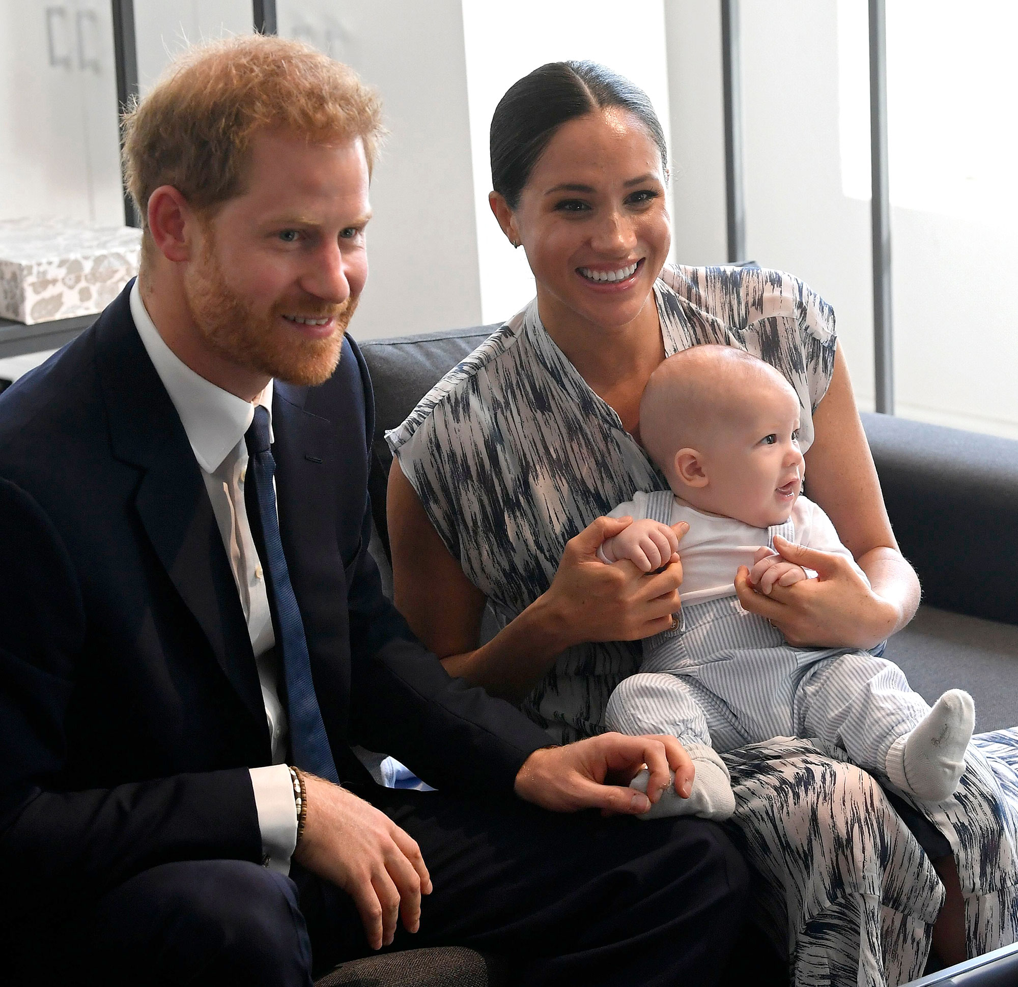 Meghan Markle, Archie Appear in Prince Harry's Docuseries Trailer