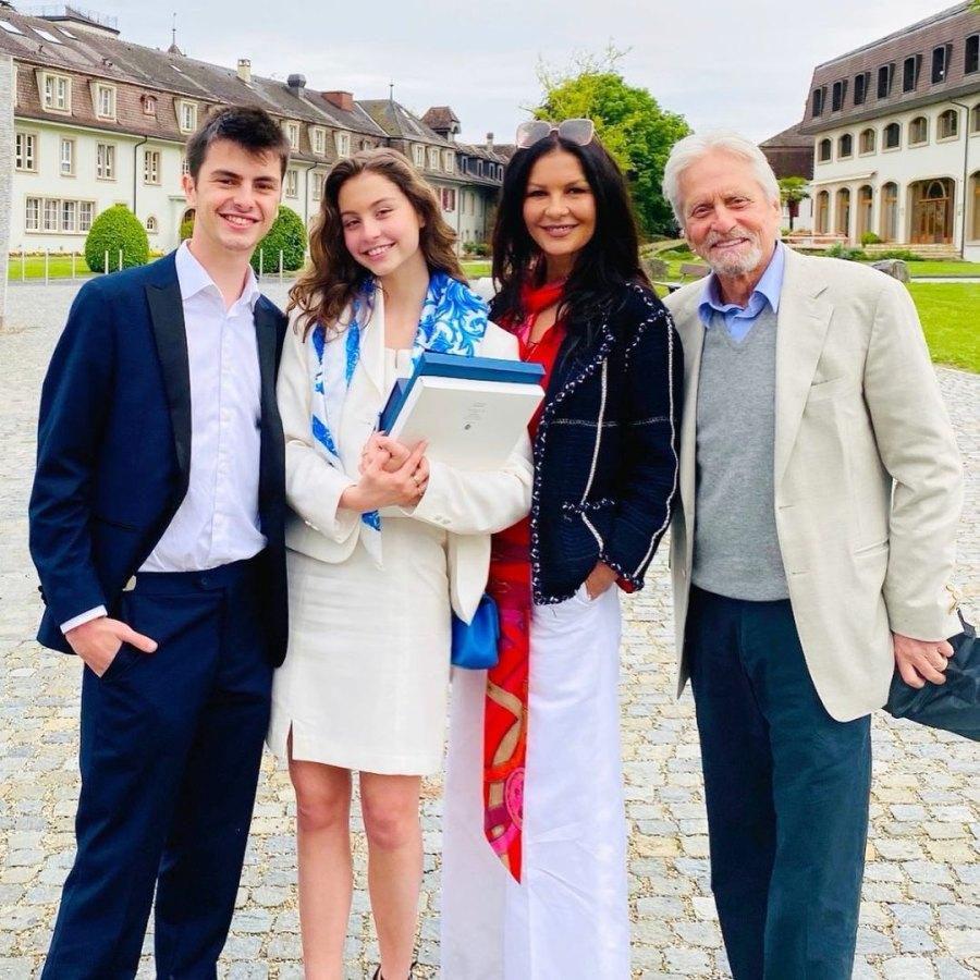 Michael Douglas, Catherine Zeta-Jones and More Celebs' Kids Graduate in 2021