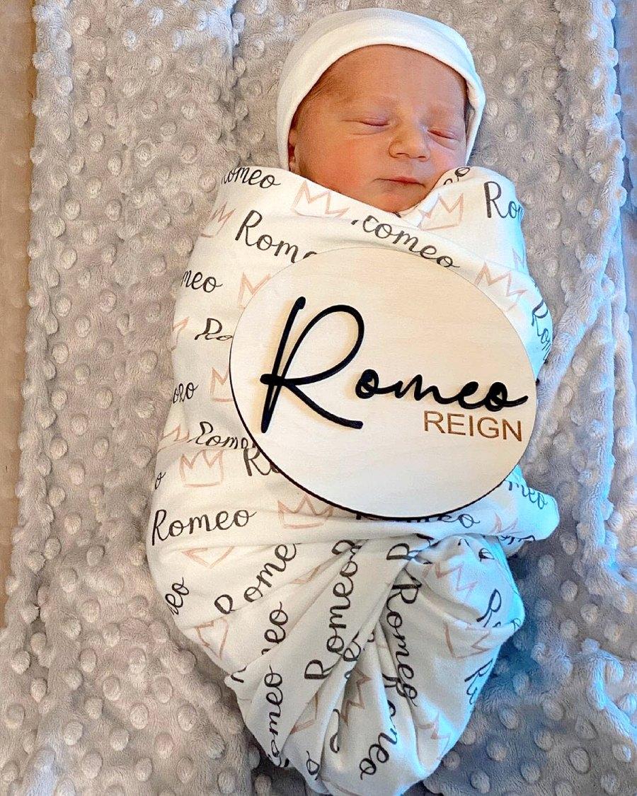Mike The Situation Sorrentino Lauren Sorrentino Welcome Rainbow Baby Romeo Reign Sorrentino