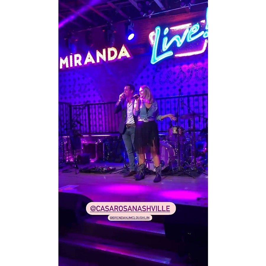 Miranda Lambert Grease Duet With Husband Brendan McLoughlin 2