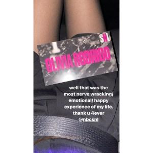 Olivia Rodrigo Stuns Fans With 'Emotional' 'Saturday Night Live' Debut, Teases New 'Sour' Album