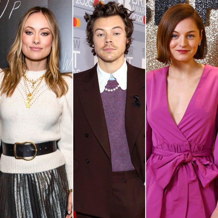 Olivia Wilde 'no se molesta' por las escenas calientes de Harry Styles con la coprotagonista de 'My Policeman' Emma Corrin: 'She's Confident'