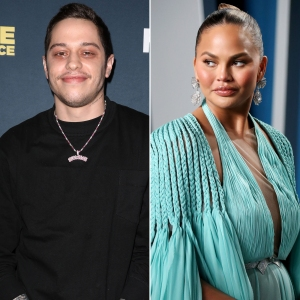 Pete Davidson Jokes He's 'Relieved' Chrissy Teigen Is 'Out of Our Lives' During 'SNL