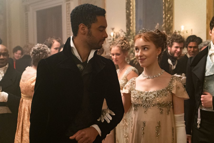 Phoebe Dynevor Reflects on Sexual Evolution Rege-Jean Page Bridgerton Characters 2
