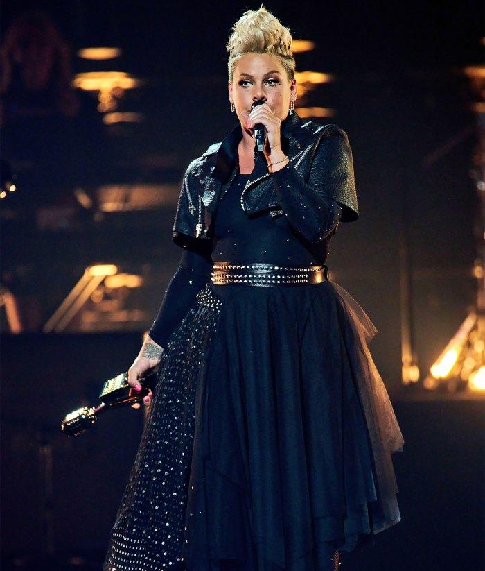 Pink recibe el premio Icon Award 2021 de los Billboard Music Awards
