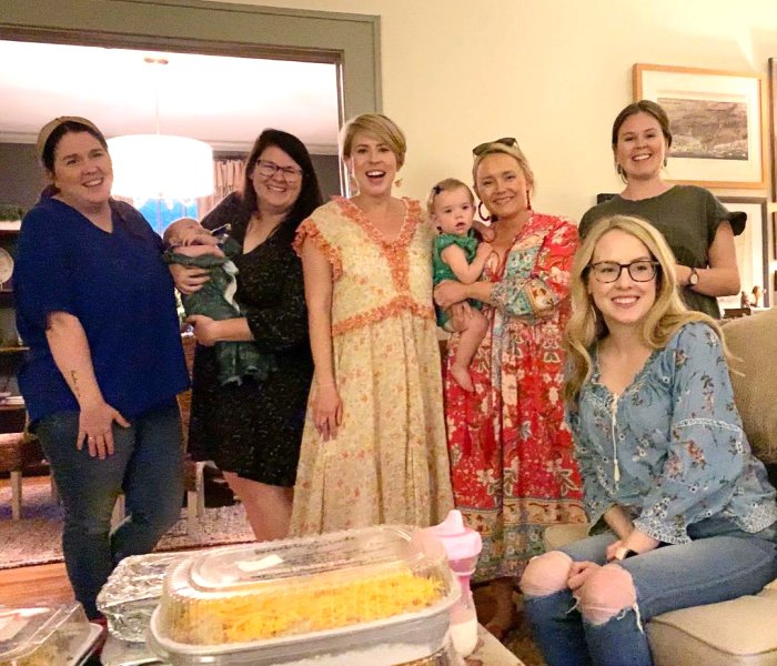 Pregnant Erin Napier Feels 'Lucky to Be Loved' After Friends Throw Her a Surprise Baby Shower