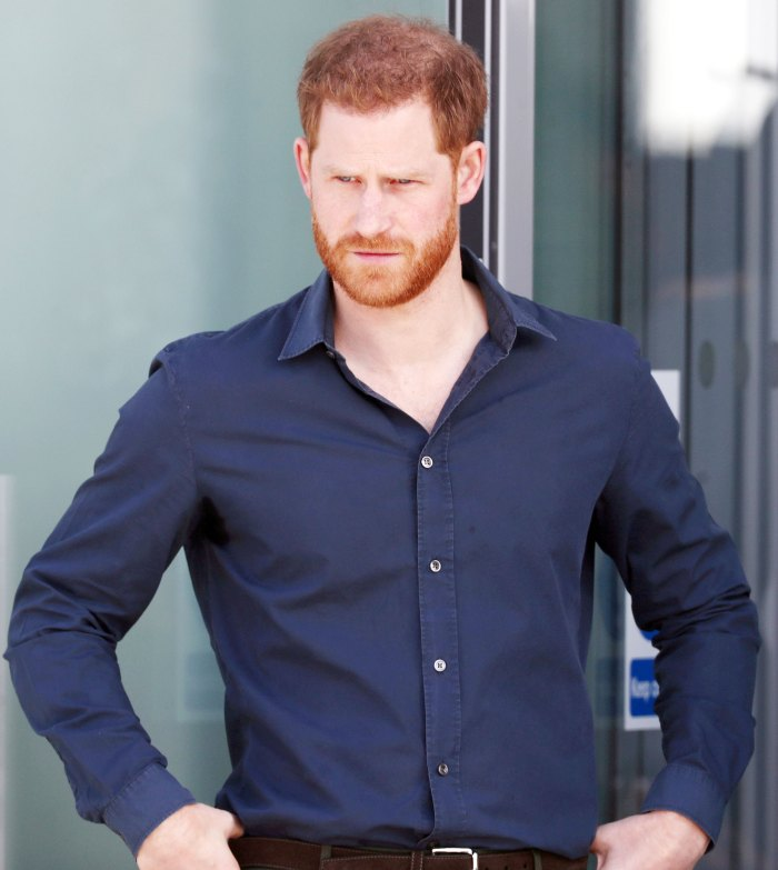 Prince Harry Says He Was Met With Total Silence Total Neglect When Addressing Family About His Anxiety