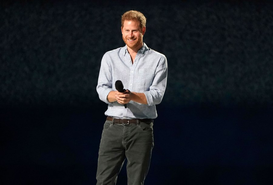 Prince Harry Vax Live Concert to Reunite the World 5