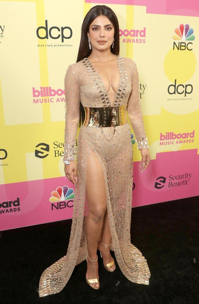 Priyanka Chopra brilla con 40 quilates de diamantes en los premios Billboard Music Awards 2021