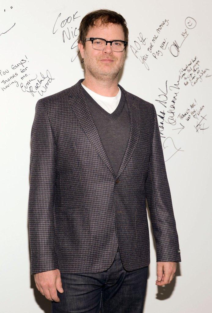 Rainn Wilson The Office Cast Reacts Mark York Death