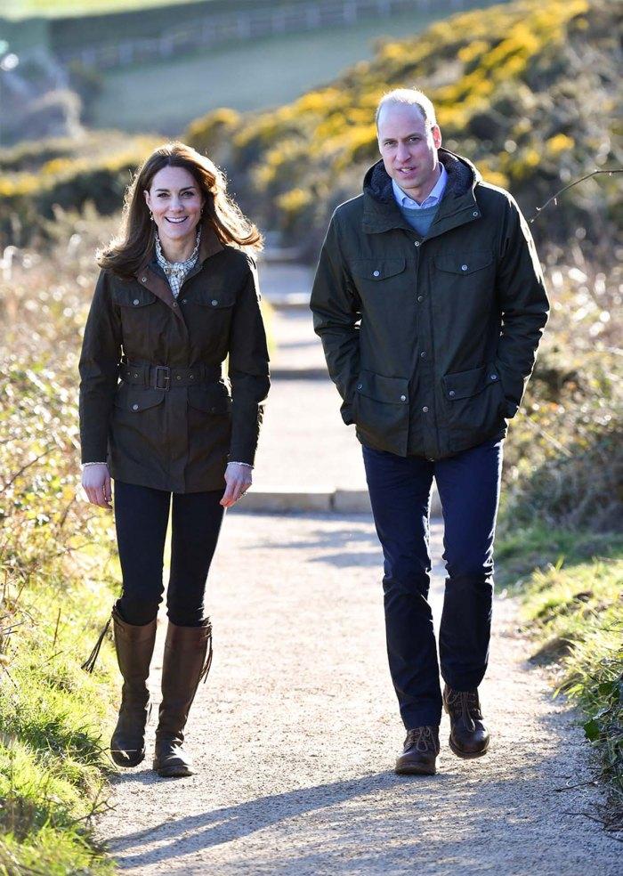 Romance Rewind El príncipe William Kate visita la universidad donde se conocieron