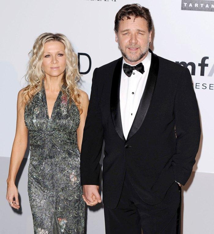 La ex esposa de Russell Crowe, Danielle Spencer, comparte una rara foto de sus hijos adolescentes