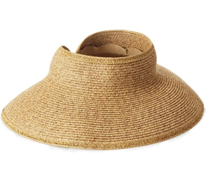 San Diego Hat Company Women's Ultrabraid Visor Hat