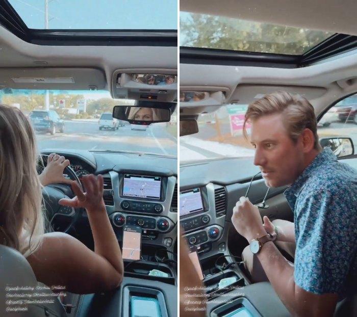 Madison LeCroy y Austen Kroll de Southern Charm pasan el rato después de la separación