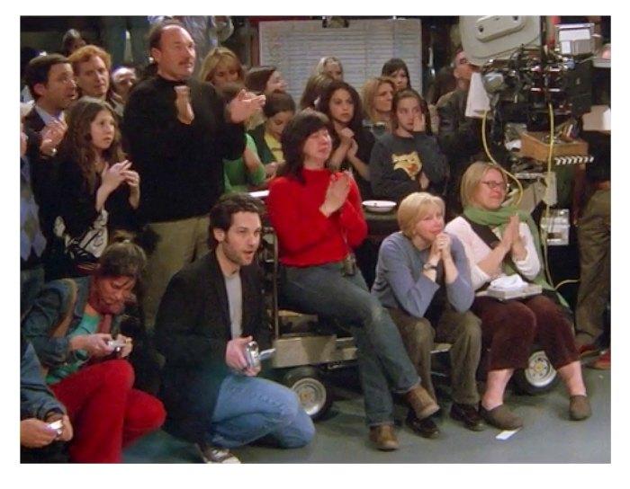 Paul Rudd filmó el final de Friends con su videocámara