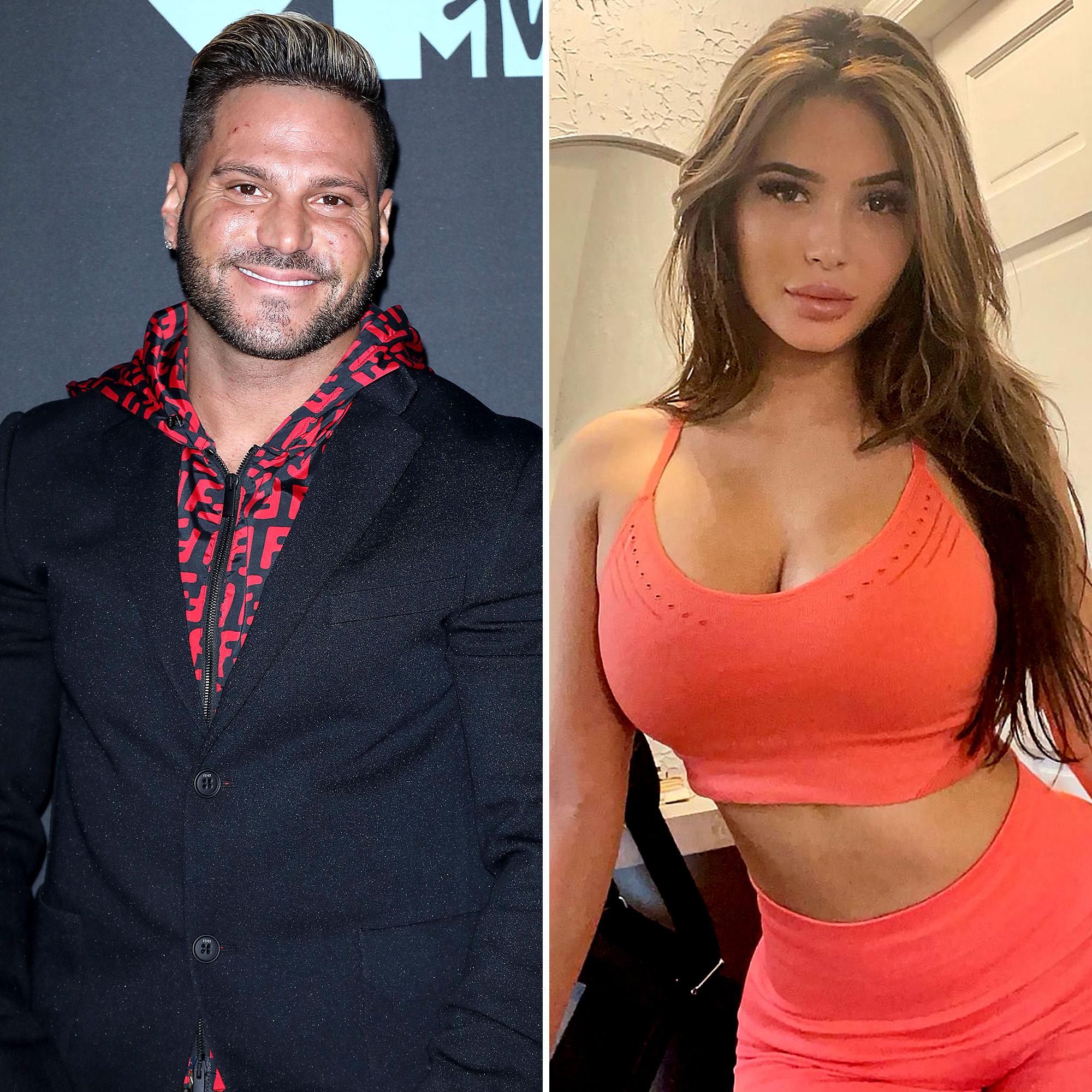 Ronnie Ortiz-Magro Hugs Girlfriend Saffire Matos 1 Month After Arrest