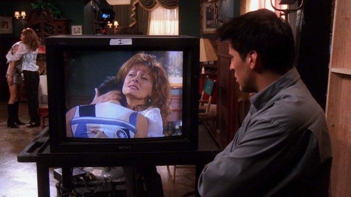 Susan Sarandon refleja Friends Cameo Matt LeBlanc Escenas de sexo Era un entorno familiar real
