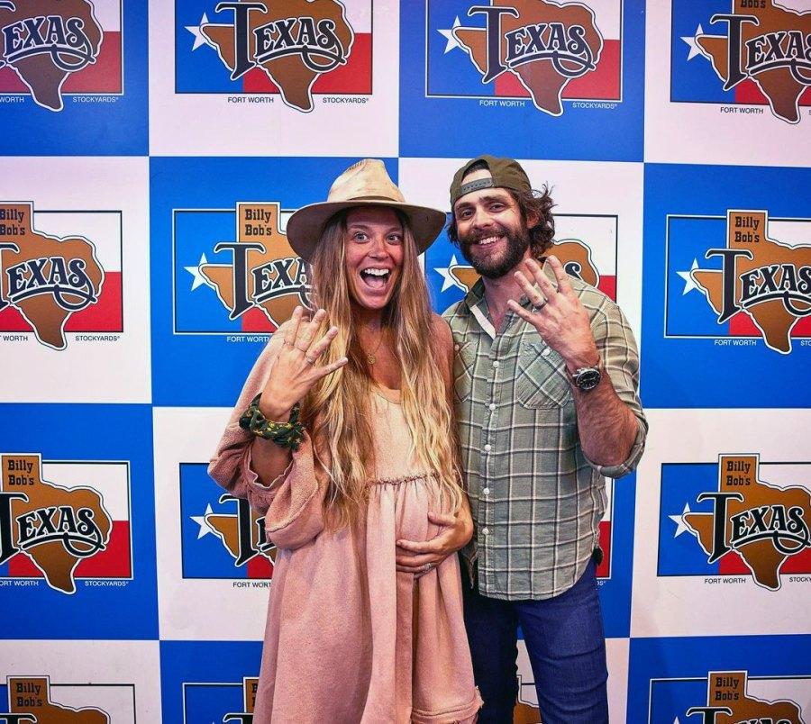 Thomas Rhett's Wife Lauren Akins Is Pregnant, Expecting Their 4th Child