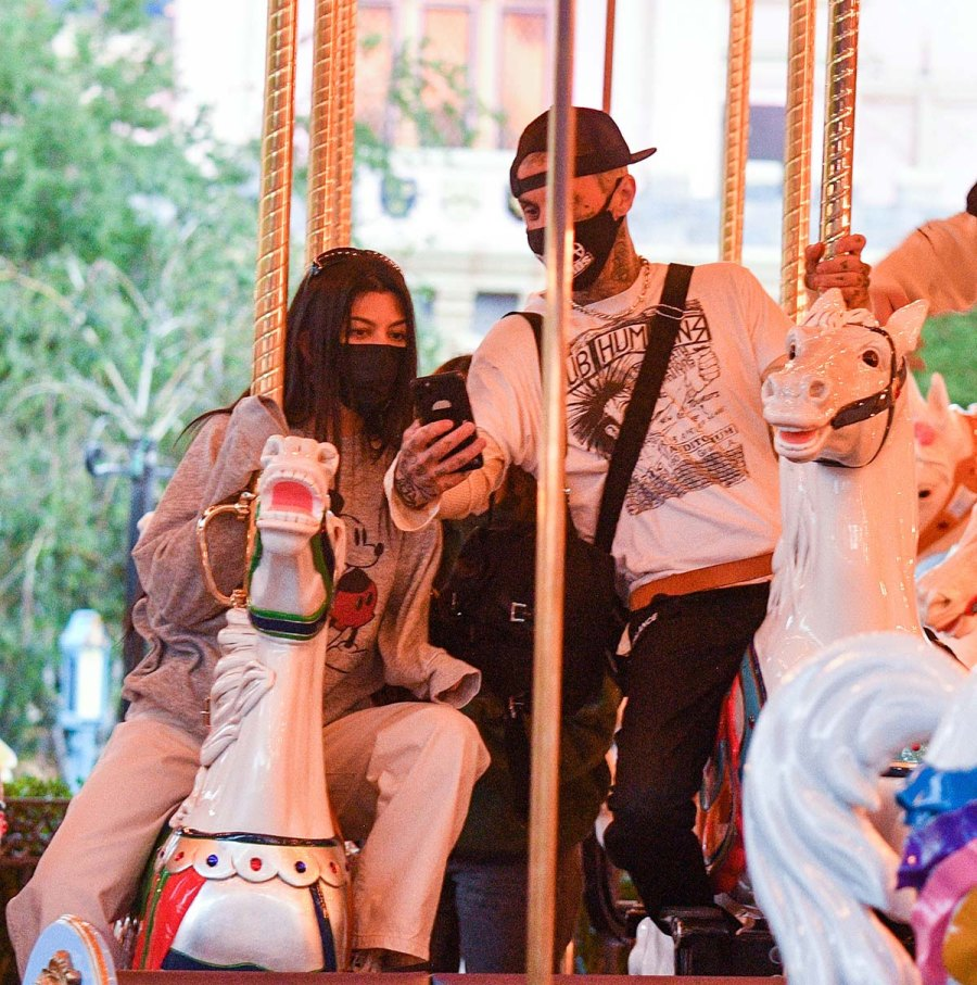 Travis Barker Kourtney Kardashian Go Disneyland Amid Shanna Drama