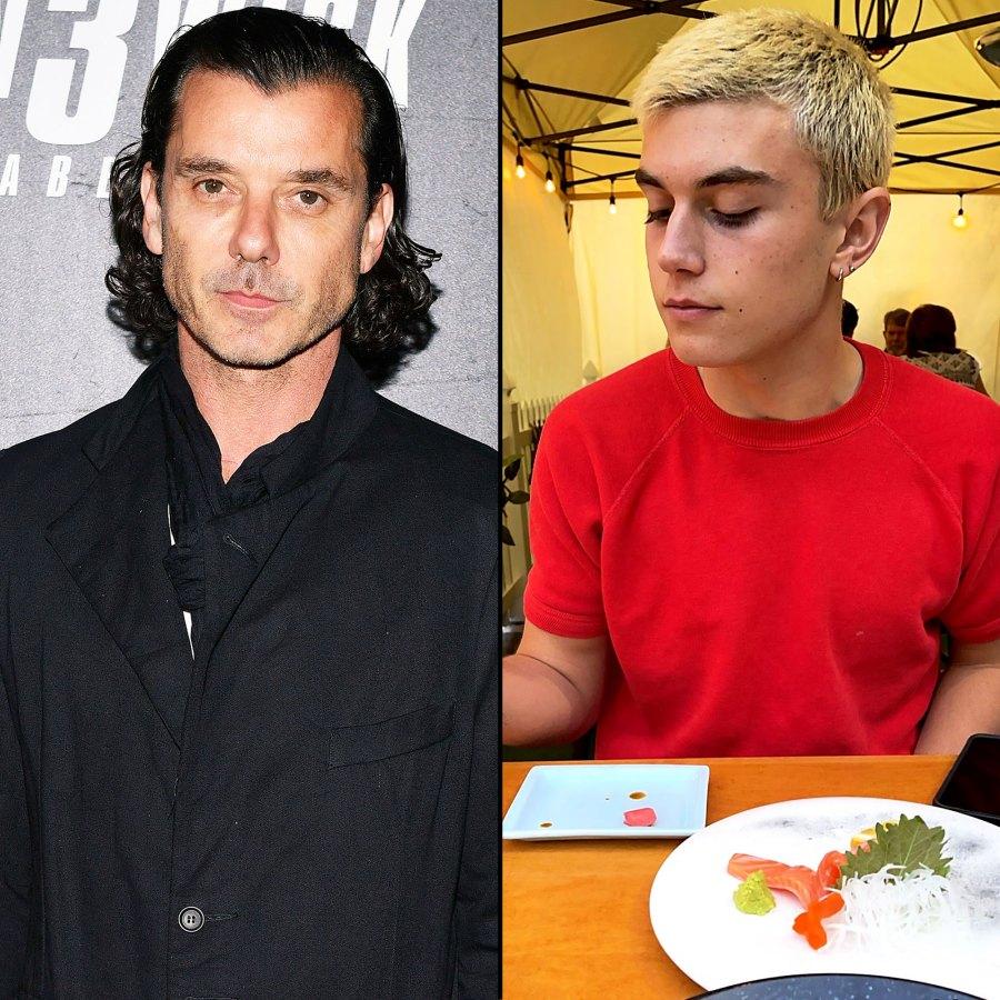Twinning Gavin Rossdale More Celebrity Parents With Look Alike Kids